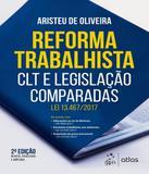 Reforma Trabalhista - Clt E Legislacao Comparadas - 02 Ed - Atlas - humanas (did./prof.)