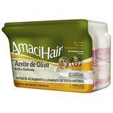 Relaxamento cabelo amacihair kit azeite de oliva 220g