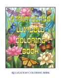 Relaxation Coloring Book (Stain Glass Window Coloring Book) - West suffolk cbt service ltd
