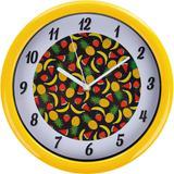 Relógio 26cm Redondo Grande Cazza Frutas