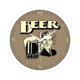 Relógio Beer Marrom - All classics