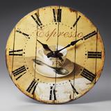 Relógio Café de Parede - Prestige