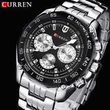 Relógio curren importado  modelo 8077