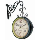 Relógio De Estação London 1894 Metal Marrom - Versare anos dourados