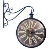 Relógio De Estação Old Town Clocks London Est 1863 - Versare anos dourados