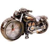 Relógio De Mesa Despertador Decorativo Em Forma De Moto - Art house