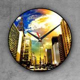 Relógio de parede decorativo, criativo e descolado   Avenida Paulista em São Paulo, SP - Colours  creative photo decor
