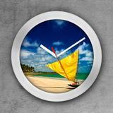 Relógio de parede decorativo, criativo e descolado  Jangada Brasil - Colours  creative photo decor