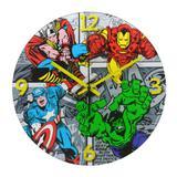 Relógio de Parede Decorativo - Disney - Marvel - Comics - Mabruk