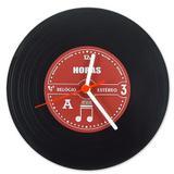 Relógio de Parede Disco de Vinil - Geek10