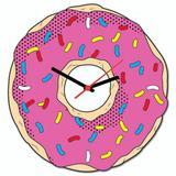 Relógio de Parede Donuts - Os Simpsons - Cantaki