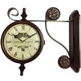 Relógio De Parede Estação Chateau Aurent - Versare anos dourados