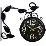 Relógio De Parede Estação Paris Preto - Versare anos dourados