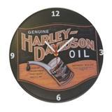 Relógio De Parede Estampa Harley Davidson Vinil 30X30 Cm - Maisaz