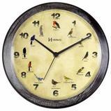 Relógio De Parede Herweg 6658 Canto Passaros Brasileiros