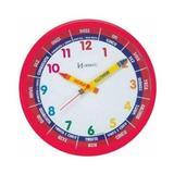 Relógio De Parede Herweg Ref: 6690-269 Vermelho Infantil