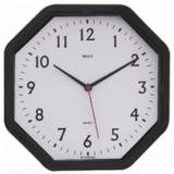 Relógio De Parede Oitavado Números 22cm Quartz - Bells