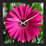 Relógio de Parede Personalizado para Cozinha Margarida Barberton 30x30cm - Decore pronto