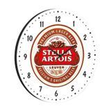 Relógio Decorativo Redondo 35cm BW Quadros Branco