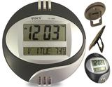 Relógio Digital Redondo De Parede E Mesa Data Temperatura Calendário Alarme - Casita