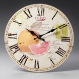 Relógio Laranja de Parede - Prestige