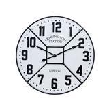 Relógio Parede Esmaltado Branco - Fullway