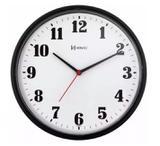 Relógio Parede Herweg 6126 034 Analogico 26 Cm Preto