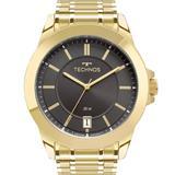 Relógio Technos Masculino Dourado Classic Steel 2415DF/4C