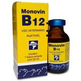 Remédio Injetável Bravet Monovin B12 Para Bovinos 20ml