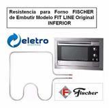 Resistencia P/ Forno Eletrico Fischer Fit Line 220v Original