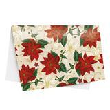 Resma De Papel De Presente 50x70cm Natal Floral C/20 Unid - Cromus