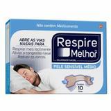 Respire Melhor Pele Sensível Tamanho Médio 10 unidades - Glaxosmithkline brasil pr