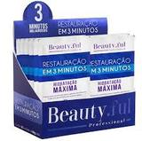 Restauração 3 Minutos Hidrat Maxima Beauty Ful 50 Gr Display com 20 Unid - Beauty.ful professional