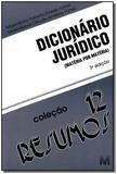 Resumo (12) dicionário jurídico - 3 ed./2010
