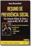 Resumo de previdencia social para concursos public - Jurua