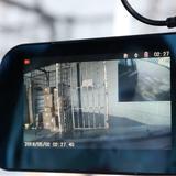 Retrovisor com Câmera Knup Kp-S103 Tela Lcd 4.3 Polegadas Câmera Frontal + Câmera de Ré