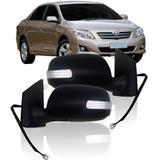 Retrovisor Corolla 2009 a 2012 Retrátil Com PiscaBR - Sp acessórios