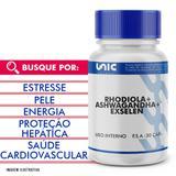 Rhodiola + Ashwagandha + Exselen 30 Doses - Unicpharma