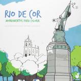 Rio De Cor. Monumentos Para Colorir - Jaguatirica
