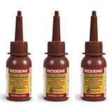 Rioquímica Riodeine Antisséptico Almotolia 30ml (Kit C/03)