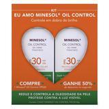 Roc Minesol Oil Control Kit - 2 Protetores  Solares Faciais