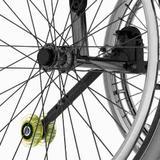 Roda Anti Tombo para Cadeira de Rodas Star Lite Monobloco Ortobras