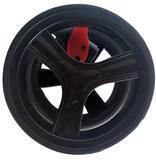 Roda frontal dianteira do Carrinho Nexus Cosco Preta ORIGINAL