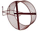 Roda Para Hamster Grande Chinchila e Outros Roedores Diâmetro 24 cm Roedores - Contrera pet
