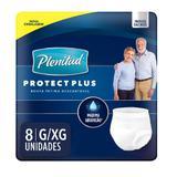 Roupa intima plenitud protect plus c/8 g/xg