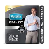 Roupa Intima Plenitud Real Fit Homem P/M - 8 unidades