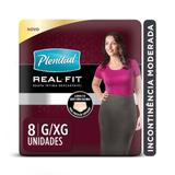 Roupa Intima Plenitud Real Fit Mulher G/XG  8 unidades