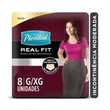 Roupa Intima Plenitud Real Fit Mulher G/XG - 8 unidades