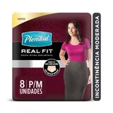 Roupa Intima Plenitud Real Fit Mulher P/M - 8 unidades