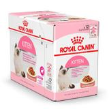 Royal Canin Sachê Úmidos Kitten Filhotes Kit 12un 85g Cada